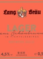 Lang-Bräu Lager Brewers Gold