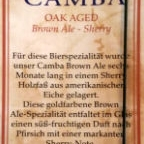 Camba Oak Aged Brown Ale - Sherry