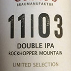 Canoe Double IPA Rockhopper Mountain