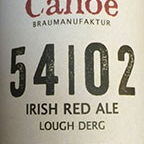 Canoe Lough Derg Irish Red