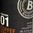 Club Bier 01 Coffee Stout