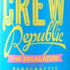 Crew Republic 7:45 Escalation Double IPA
