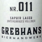Grebhan's Spezialsud Nr. 011 Saphir Lager