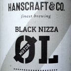 Hanscraft & Co. Black Nizza MotorØl