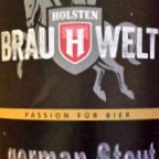 Holsten Brauwelt German Stout