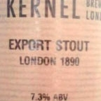 The Kernel Export Stout (1890 London)