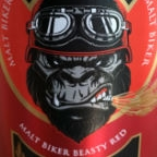 Wild Monkeys Malt Biker Beasty Red